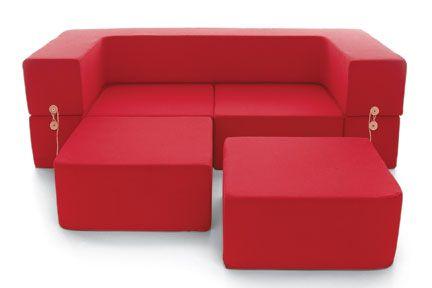 modular kid-size sofa.