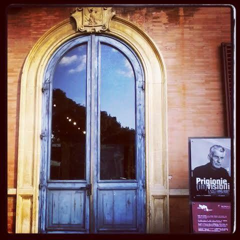 #Rome - #VillaPamphili Palazzina Corsini | #door #blue #igers #igersRoma #igersItalia #MyInstagramPhoto