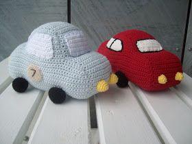 Tumlinger & Krudtugler...: DIY - hæklet bil