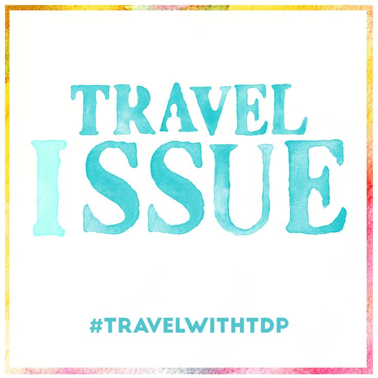 Our Travel Issue is officially out! Get your free copy clicking on this picture :)