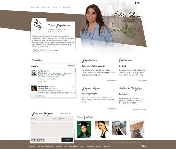 Hatice OLGUN   Web Design