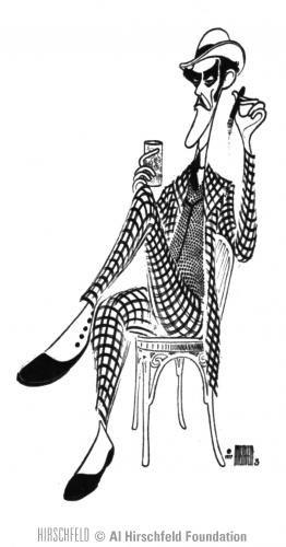 17 best images about hirschfield caricatures on pinterest