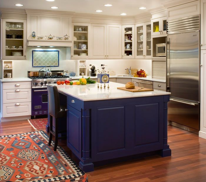 Marvelous Two Tone Kitchen Cabinets