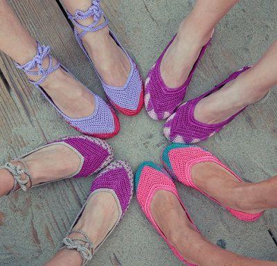 Idea para mis alpargatas o rehacer zapatos