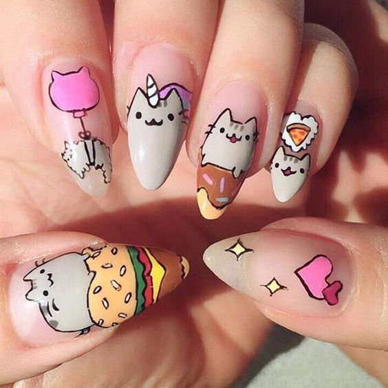 26 Impossible Japanese Nail Art Designs: Best 25+ Animal Nail Designs Ideas On Pinterest