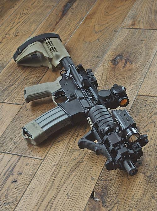 .300 BLK AR pistol