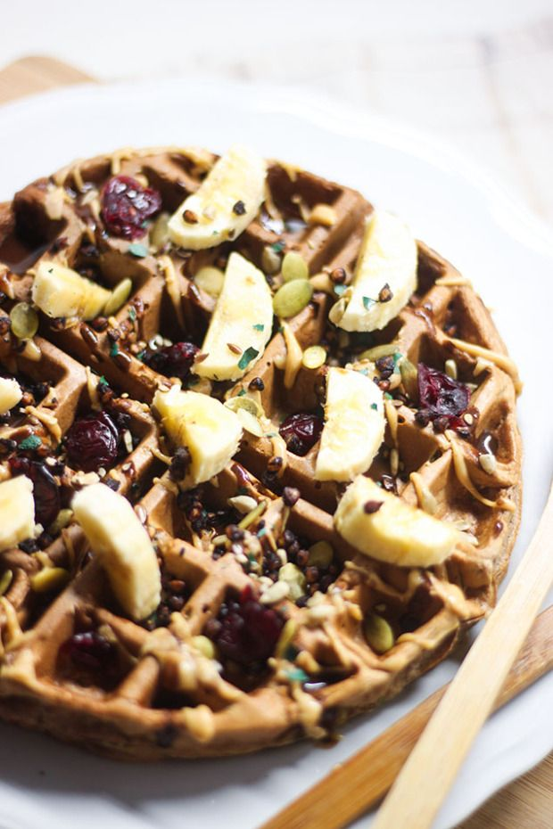 Gaufre chocolat courgette