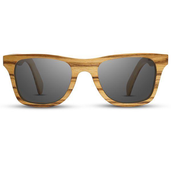 Random Sluneční brýle CLASSIC (zebrano/ javor)