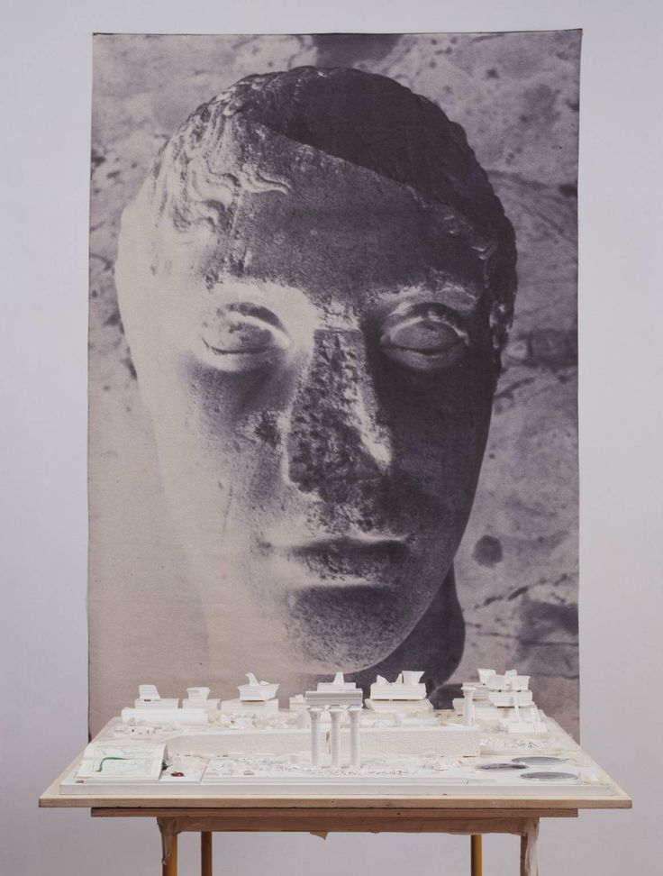 Anne Poirier and Patrick Poirier, 'Villa Adriana, in Memory of Antinous' 1979