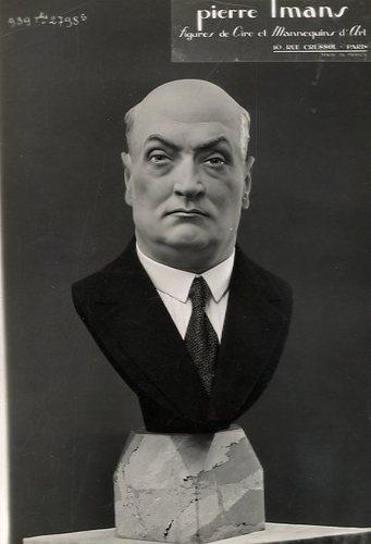 Pierre Imans  Figure de Cire et Mannequin DArt.Homme Mode. Tirage argentique d