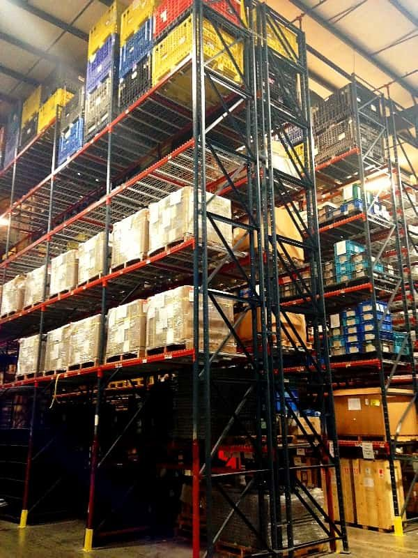 Used Structural Pallet Rack Adder Kit 48″ x 31′ x 102″