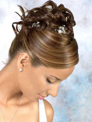 peinado de novia peinados lindos para cabello novias maquillaje belleza fiestas recogido