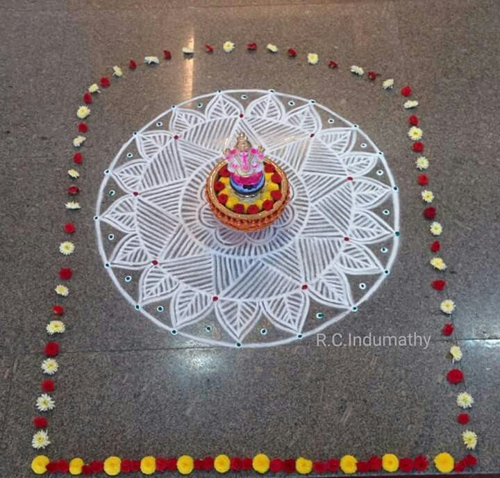 1000 Images About Rangoli: 1000+ Images About Ritual On Pinterest