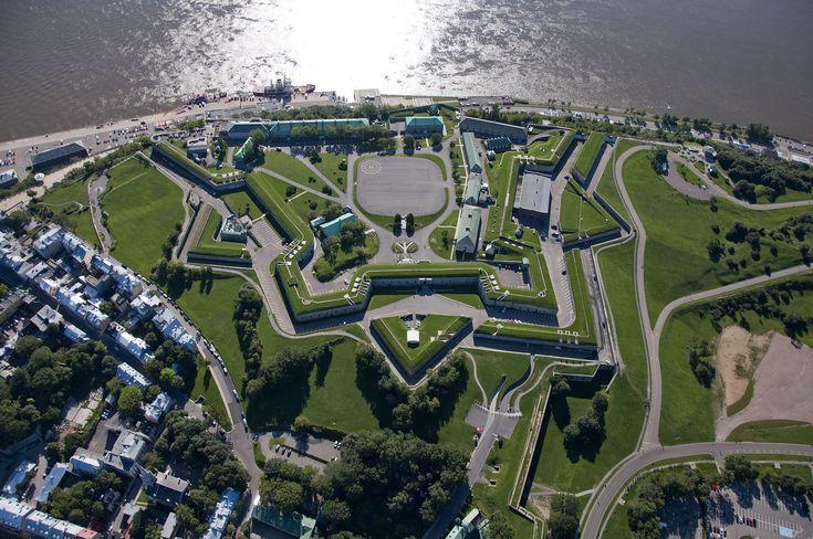 La Citadelle de Québec, vue du ciel.JPG