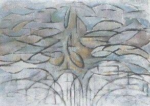 Melo in fiore; circa 1912; olio su tela; 78×106 cm. L'Aia Gemeentemuseum