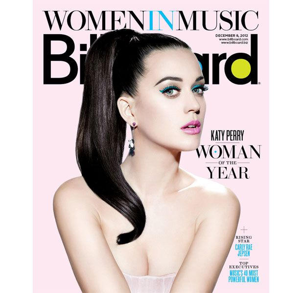 Katy Perry is Billboard's Woman Of The Year 2012 - December 2012