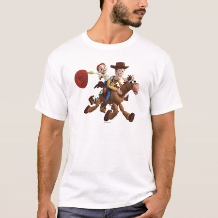 Toy Story 3 - Woody Jessie T-Shirt - click/tap to personalize and buy