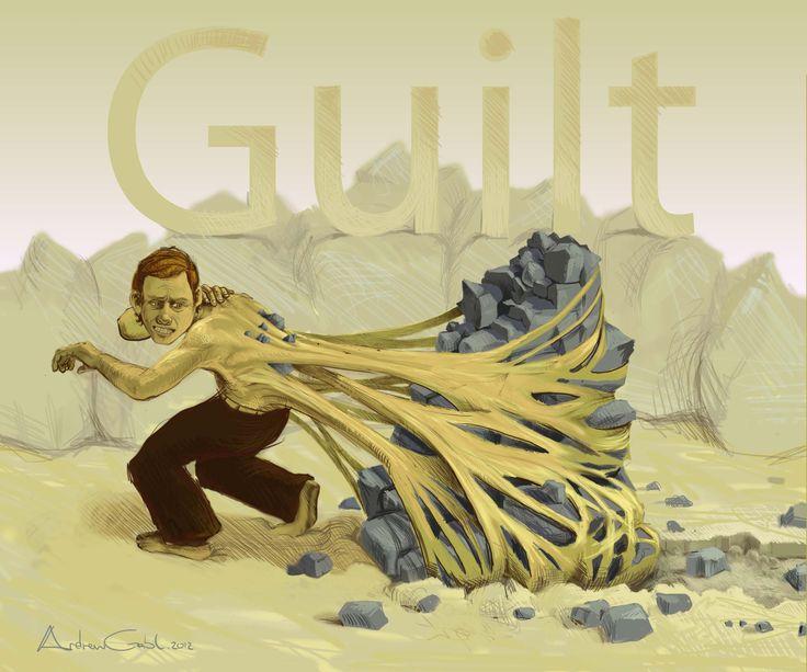 'Guilt'  Illustration by Andrew Gable