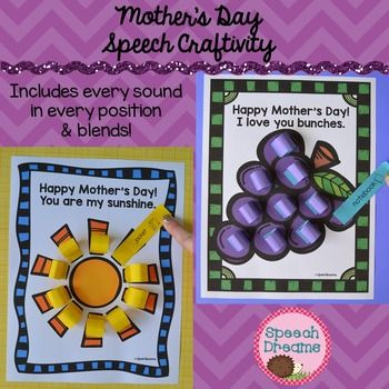 Mothers Day Crafts Occupational Therapy