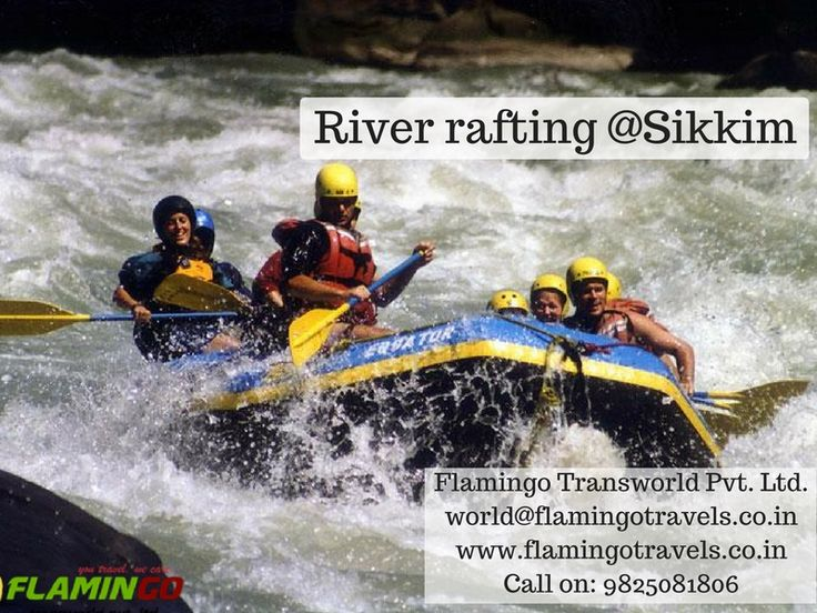 Enjoy River rafting in #Sikkimtour