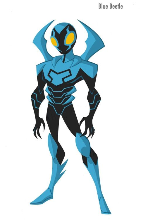 Blue Beetle (Justice League Action) by Shane Glines