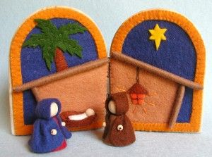 Atelier Pippilotta :: Feestdagen Nieuw Pakketten :: Kerst icoon