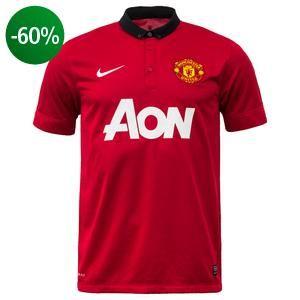 Køb Manchester United - Hjemmebanetrøje 2013/14 Børn  til kun 199,- Spar mindst 10% hos Unisport.dk! Fri fragt og retur ved køb over 699,-
