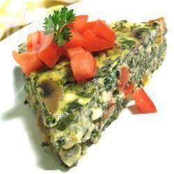 Vegetarische quiche @ allrecipes.nl