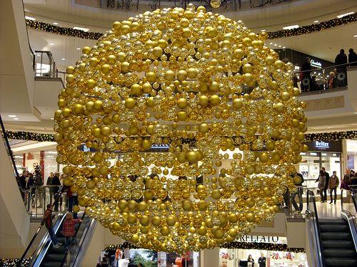 Essen - Limbecker Platz, christmas decoration