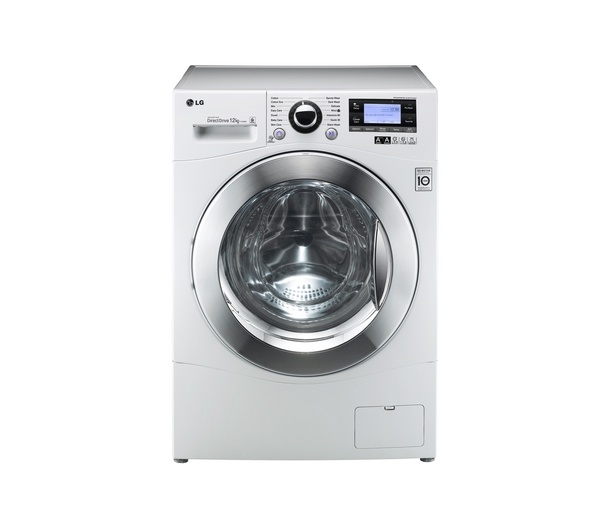 Buy LG F1495BD Direct Drive Washing Machine - White | Free Delivery | Currys