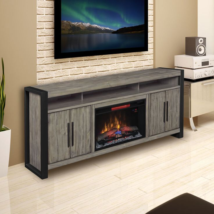 Best 25 Fireplace Entertainment Centers Ideas On
