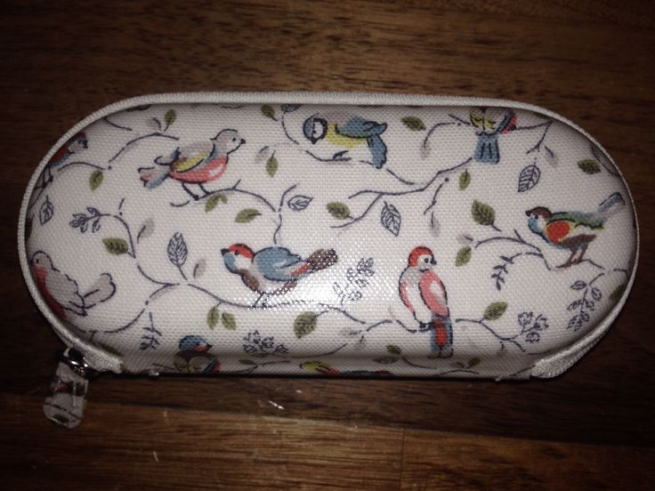 A beautiful Cath Kidston bird design on my spectacles case
