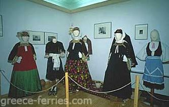 Traditional marriage uniform from Skopelos