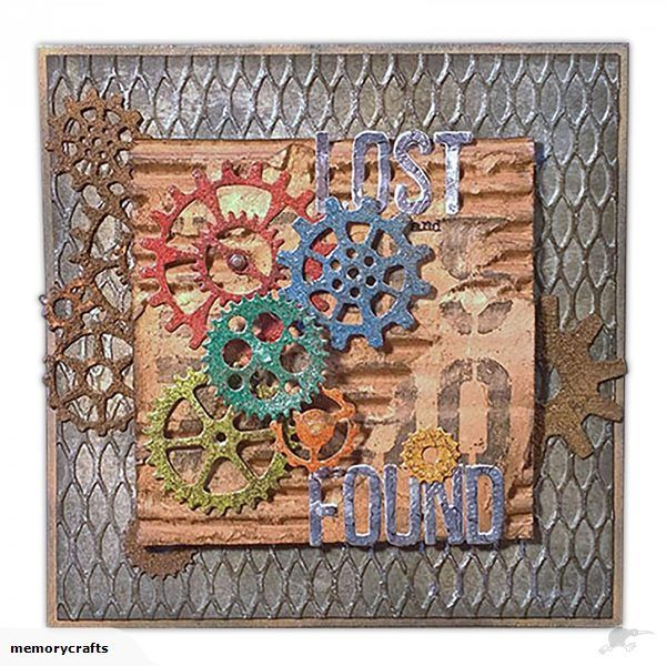Sizzix Thinlits Dies 22/pkg By Tim Holtz  Tim Holtz Alterations 661184    Gearhead - Gears / Cogs / Steampunk    This pack contains a huge collection of 22 uniq...