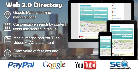 Web 2.0 Directory  #codecanyon