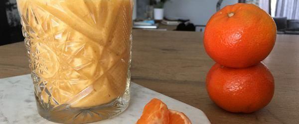 Zomerse mandarijn smoothie - Eerlijker Eten