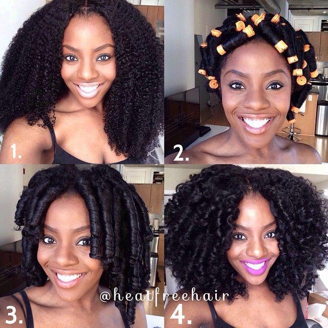 Head full of beautiful curls.