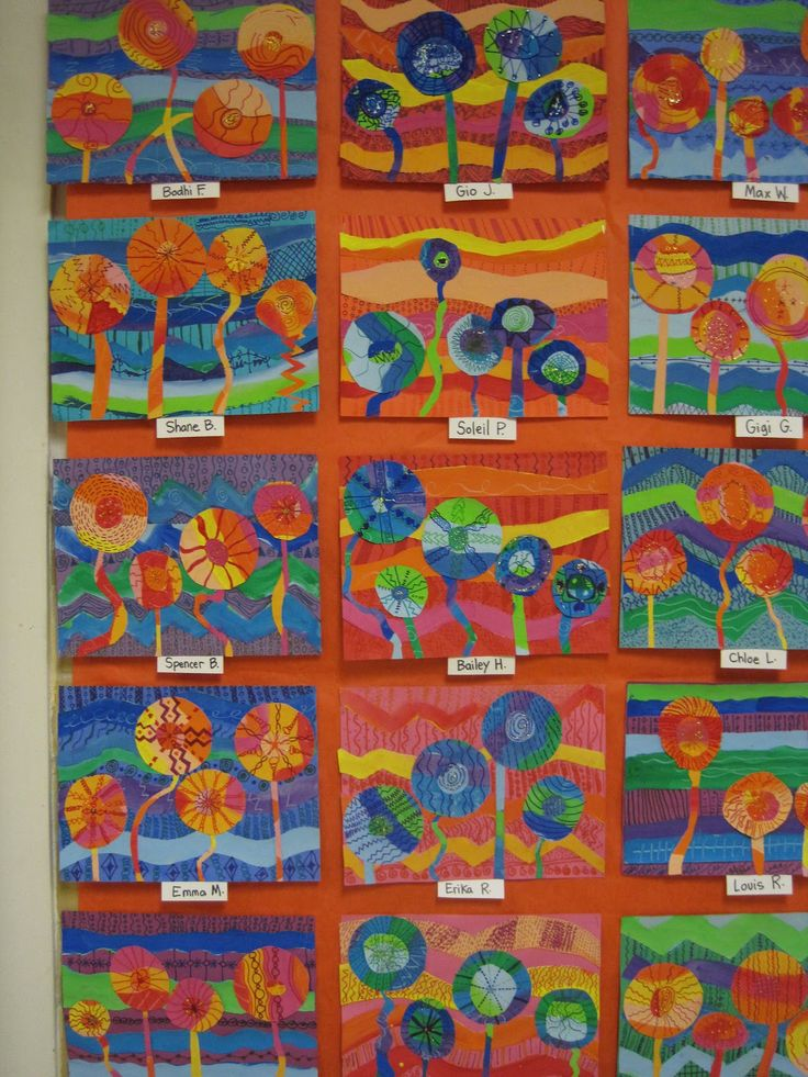 Art Lessons : Best images about spring into may art projects on