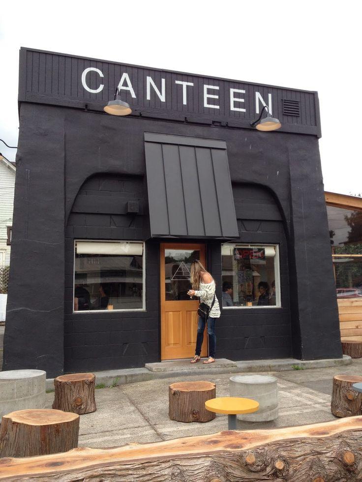 Canteen Portland (Oregon) Cafe design, Coffee shop