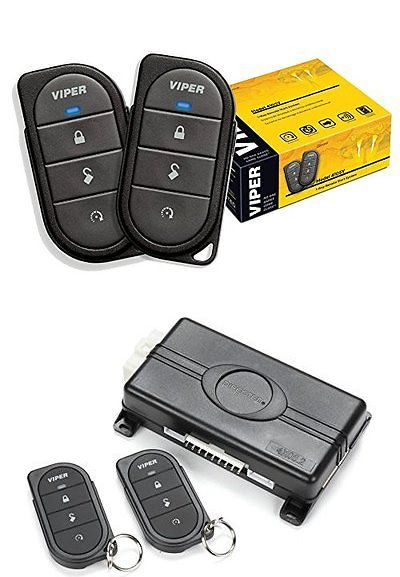 Car Alarms and Security Systems: Security Car System Auto Starter Keyless Entry Alarm One Way Engine Remote Start -> BUY IT NOW ONLY: $73.75 on eBay!