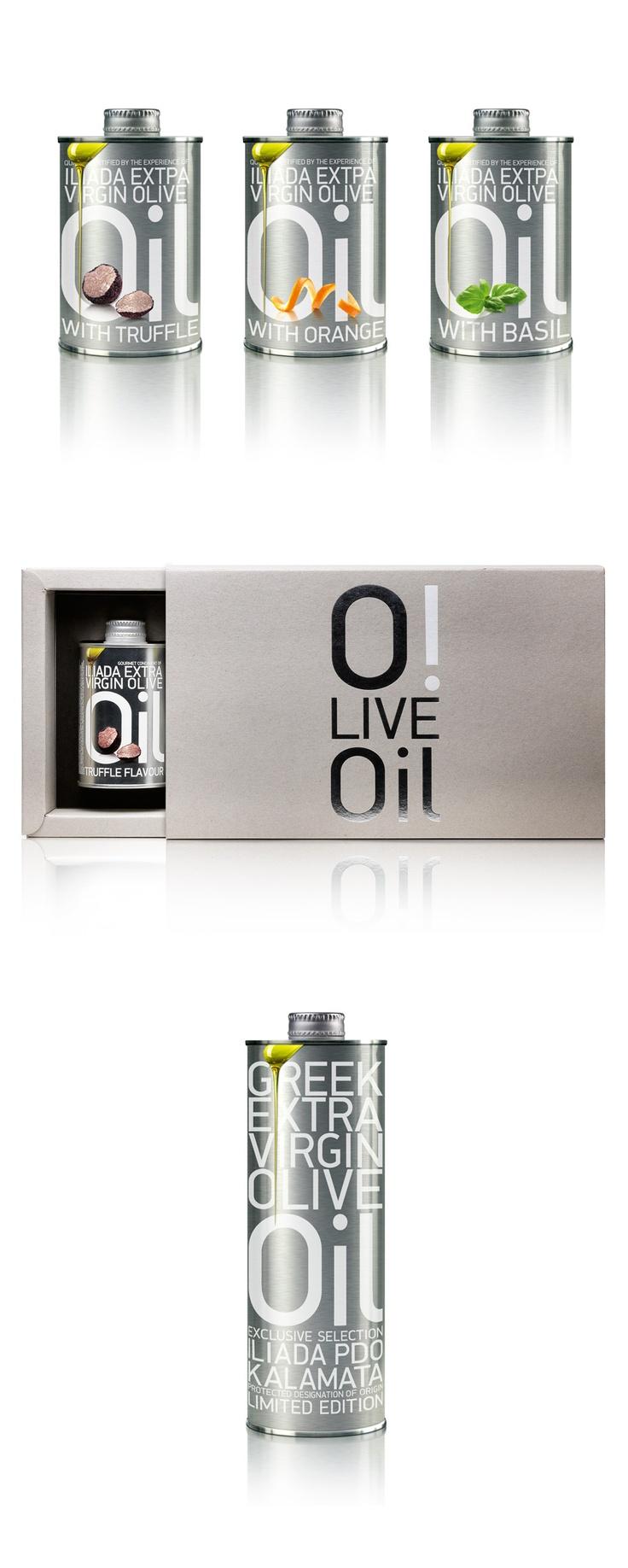 Imaginative!!! ILIADA premium extra virgin olive oils by Agrovim