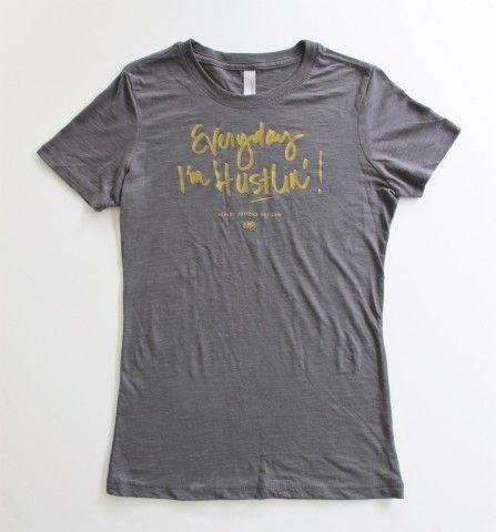 Ashley Brooke Designs Hustlin' T-shirt   Spotted on @Glitter Guide