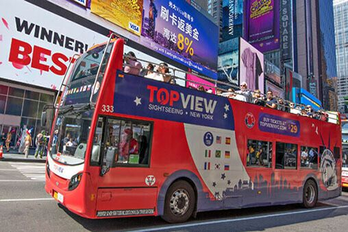 Book The Ticket For The Cheapest Deal For Double Decker Bus Tour Here Topview Shightseeinf New York Nyc Tours New York Tours New York City Tours