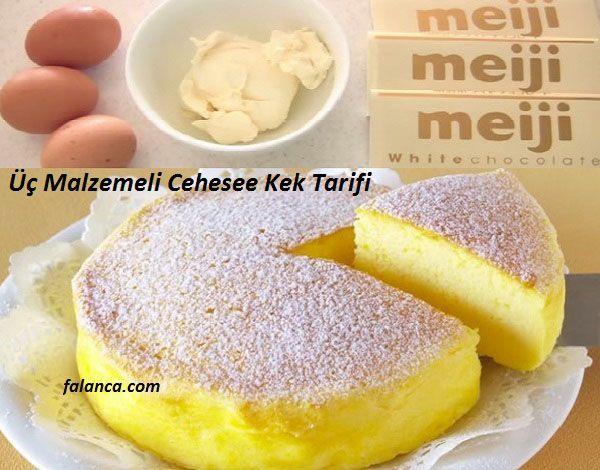 Çin keki olarakta biliniyor bu cheese kek. Çok az malzeme kullanarak sonucu sizi hüsrana uğratmayan bir cheese kek pişirebilirsiniz. Üç Malzemeli Cheese Ke – Falanca Kadın Portalı