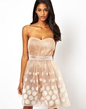 Club l chiffon prom dress burgundy