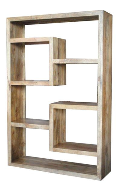 the yoga solid mango bookcase display shelf is a stunning piece of furniture each yoga item is hand made in india available in dark or light mango