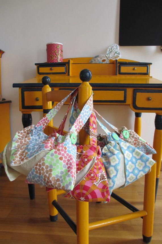 Sac multicolore en tissu pour petites filles coquettes par Milshake