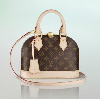 Louis Vuitton Has Released Bright New Colors For The Alma Bb This Spring Description From Spottedfashion I Searched On