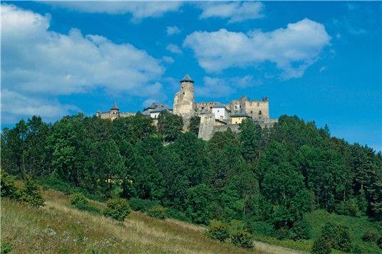 Slovakia - Ľubovniansky hrad - Lubovna Castle