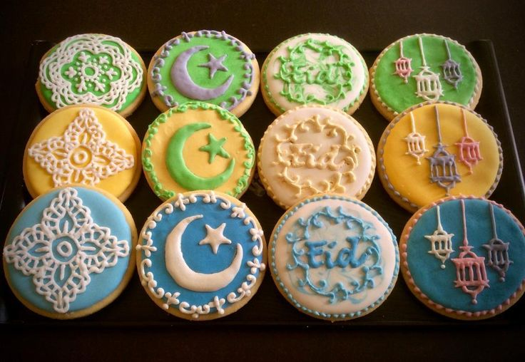 Looking for cake decorating project inspiration? Check out Eid al-Fitr cookies set by member Marg L. - via @Craftsy